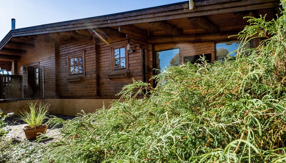 Ferienhaus 3 - Blockhaus-Feriendorf Harz